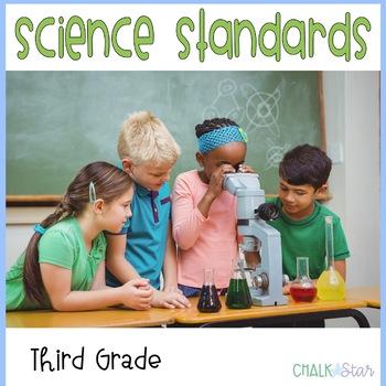Science Standards Third Grade