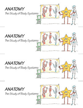 Science Star Certificates - Anatomy