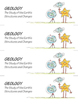 Science Star Certificates - Geology