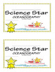 Science Star Certificates - Oceanography