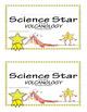 Science Star Certificates - Volcanoes
