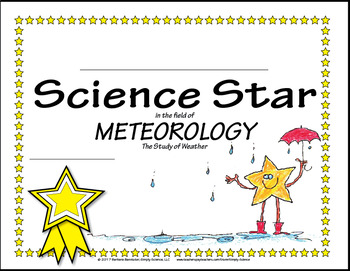 Science Star Certificates - Weather