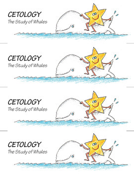 Science Star Certificates - Whales