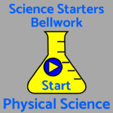 Bell Work / Bellringers / Warm Ups - 50 Physical Science Q