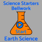 Bell Work / Bellringers / Warm Ups 50 Earth Science Questi