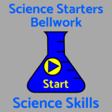 Bell Work / Bellringers / Warm Ups 50 Science Skills Questions For Middle School