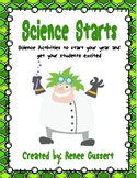 Science Starters - Beginning of Year Science Activities