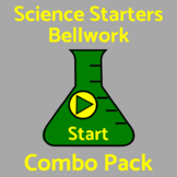 Bell Work / Bellringers Combo Pack - 200 Science Questions