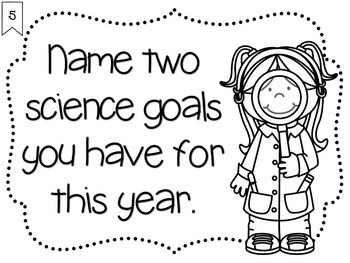 Science Starters for the Beginning of the Year ~ Interest and Preknowledge