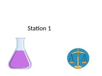 Science Station Cards