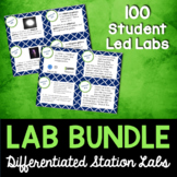 Science Station Lab Bundle - Differentiated Science Labs