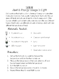 Science Stations - LIGHT Unit - Saskatchewan Curriculum Grade 4