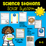 Science and STEM Stations Solar System Space Pack for K-1