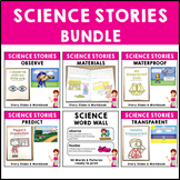 Science Stories Bundle Set 5 Waterproof Transparent Materi