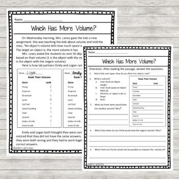Mass and Volume Activities