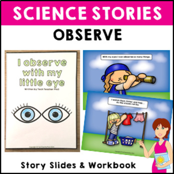 Observe Science Story Vocabulary Activities