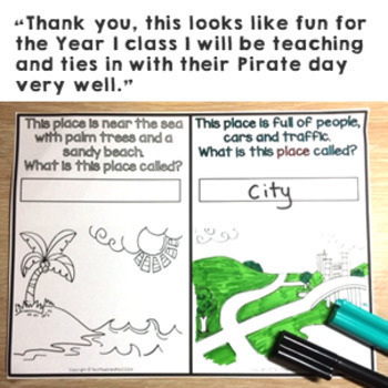 HASS Geography Story Pirate Percy's Perfect Place Illustrated Slides & Workbook