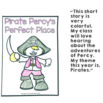 Geography Story Pirate Percy's Perfect Place Illustrated Slides and Workbook