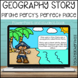 HASS Geography Story Pirate Percy's Perfect Place Illustra