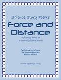 Science Story Poems about Force and Distance with an R-Controlled Vowel Focus