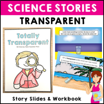 Transparent Science Story Vocabulary Activities