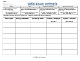 Science: Structural and Behavioral Adaptation Activity