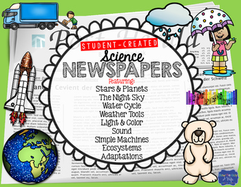 Science Student Created Newspapers