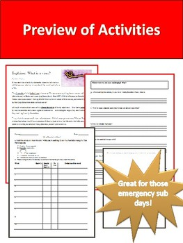Medical Science Sub Activities Bundle
