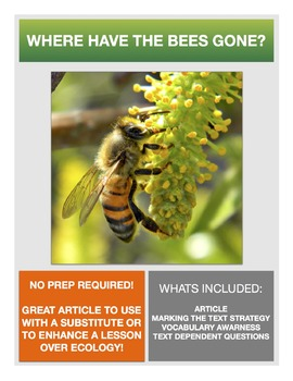Science Literacy: Honey Bees