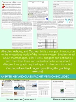 Science Sub Plan: Immune System