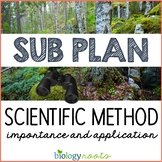Science Sub Plan - Science Literacy - Scientific Method