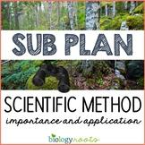 Science Sub Plan - Science Literacy - Scientific Method