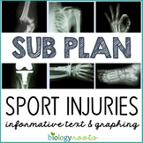 Science Sub Plan - Science Literacy - Sports Injuries