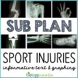 Science Sub Plan - Science Literacy - Sports Injuries