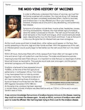 Science Sub Plan - Science Literacy - Vaccines