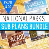 Science Sub Plans Bundle: National Parks