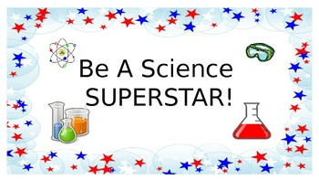 Science Superstar Classroom Posters