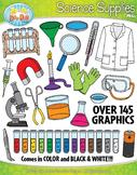 Science Supplies Clipart {Zip-A-Dee-Doo-Dah Designs}
