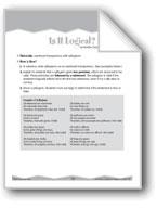 Science: Syllogisms (Ten-Minute Activities)