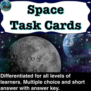 Solar System, Stars, and Galaxies Task cards