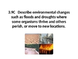 Science TEKS 3.9C Environmental Changes PPT
