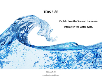 Science TEKS 4.4B and 5.8B Water Cycle ppt