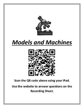 Science TEKS 5.3C (models) Using QR Codes Student Activity