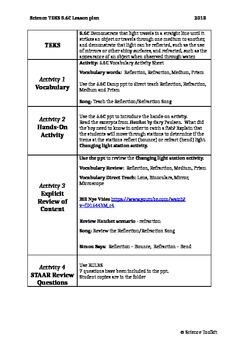 Science TEKS 5.6C Lesson Plan