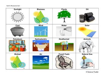 Science TEKS 5.7C, 5.1B and 4.7C card sort