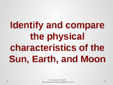 Science TEKS 5.8D Physical Characteristics of the Sun, Ear