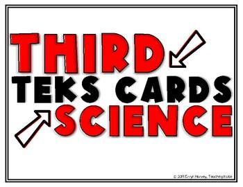 Science TEKS Third Grade