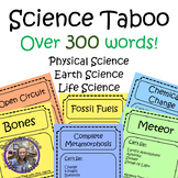Science Taboo (Vocabulary Practice and Review)