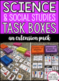 Science Task Boxes