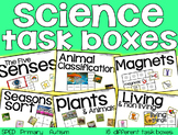 Science Task Boxes - Primary (BUNDLE)